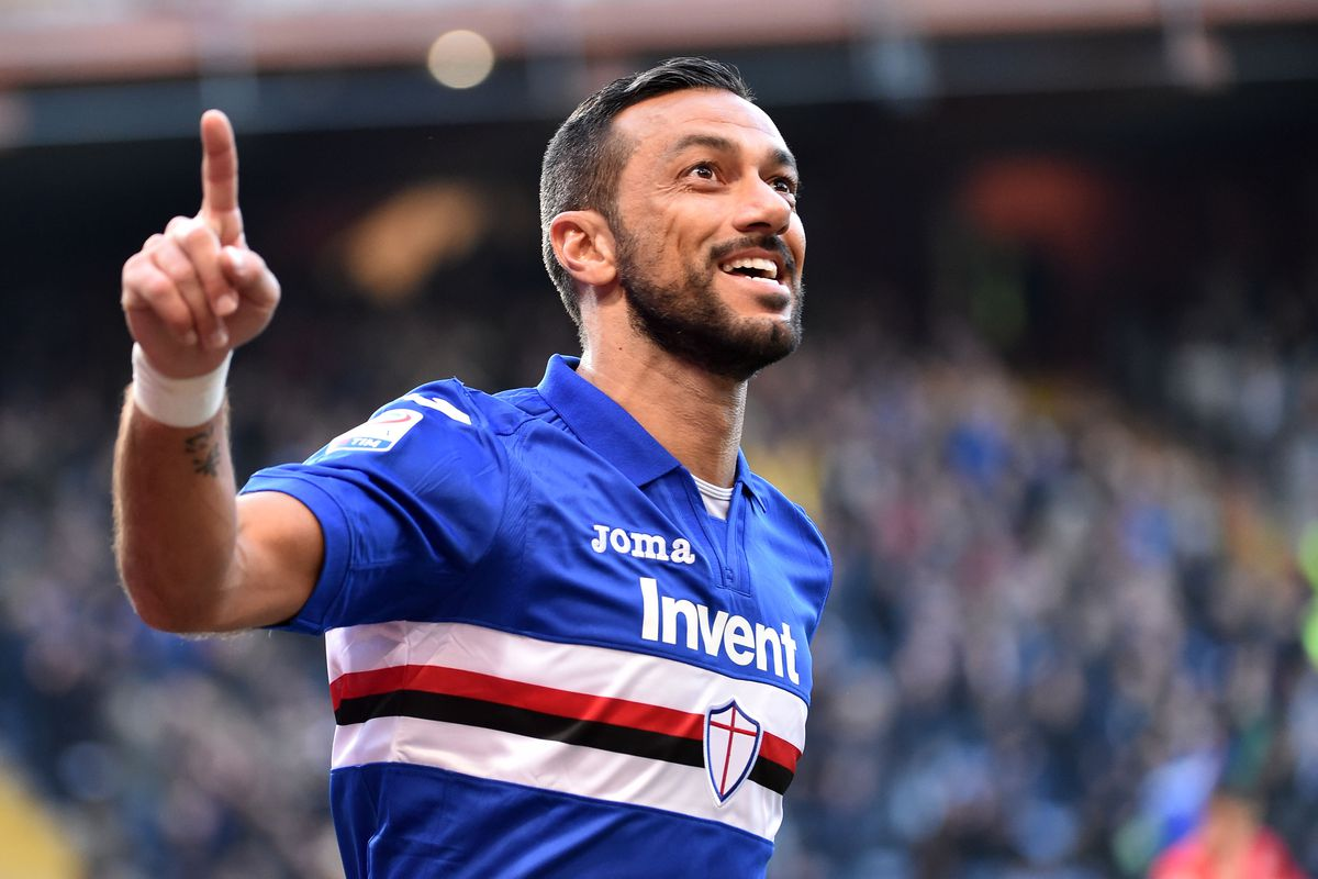 Fabio Quagliarella Rediscovers the Meaning of Football Paradise at  Sampdoria – Breaking The Lines