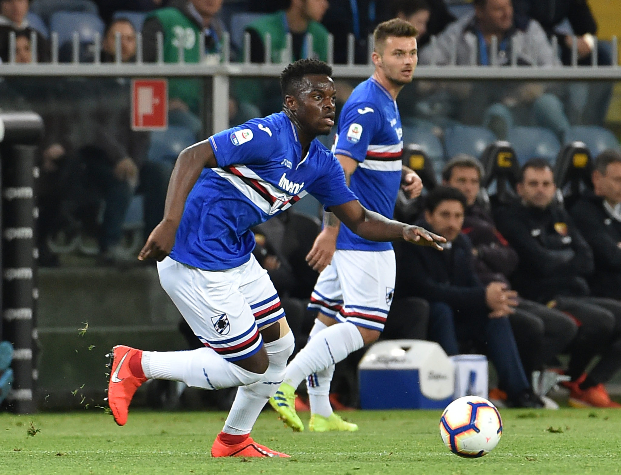 Ronaldo Vieira can prove himself at Sampdoria