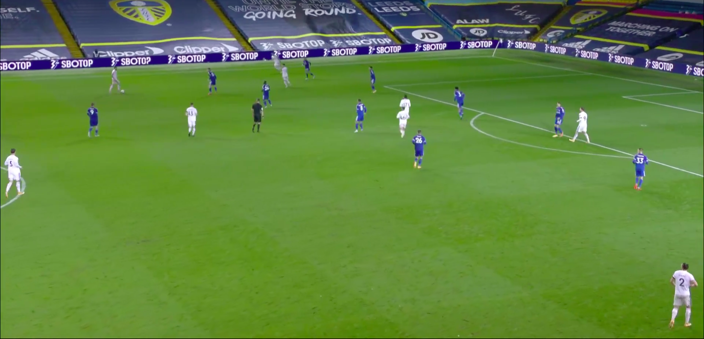 Tactical Analysis Leeds United Vs Leicester City Breaking The Lines